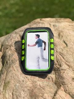 Sportarmband för mobil - Sportarmband mobil Svart/grön