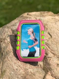 Sportarmband för mobil - Sportarmband för mobil rosa
