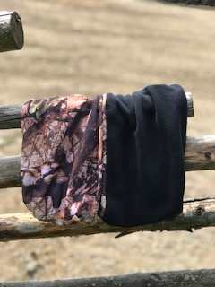 Multiscarf med fleece Svart/Camo - Multiscarf med fleece svart/camo