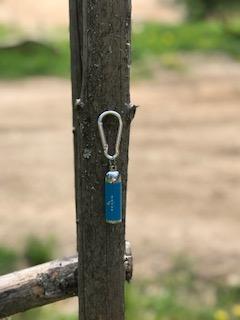Nyckelringslampa - Nyckelringslampa blå