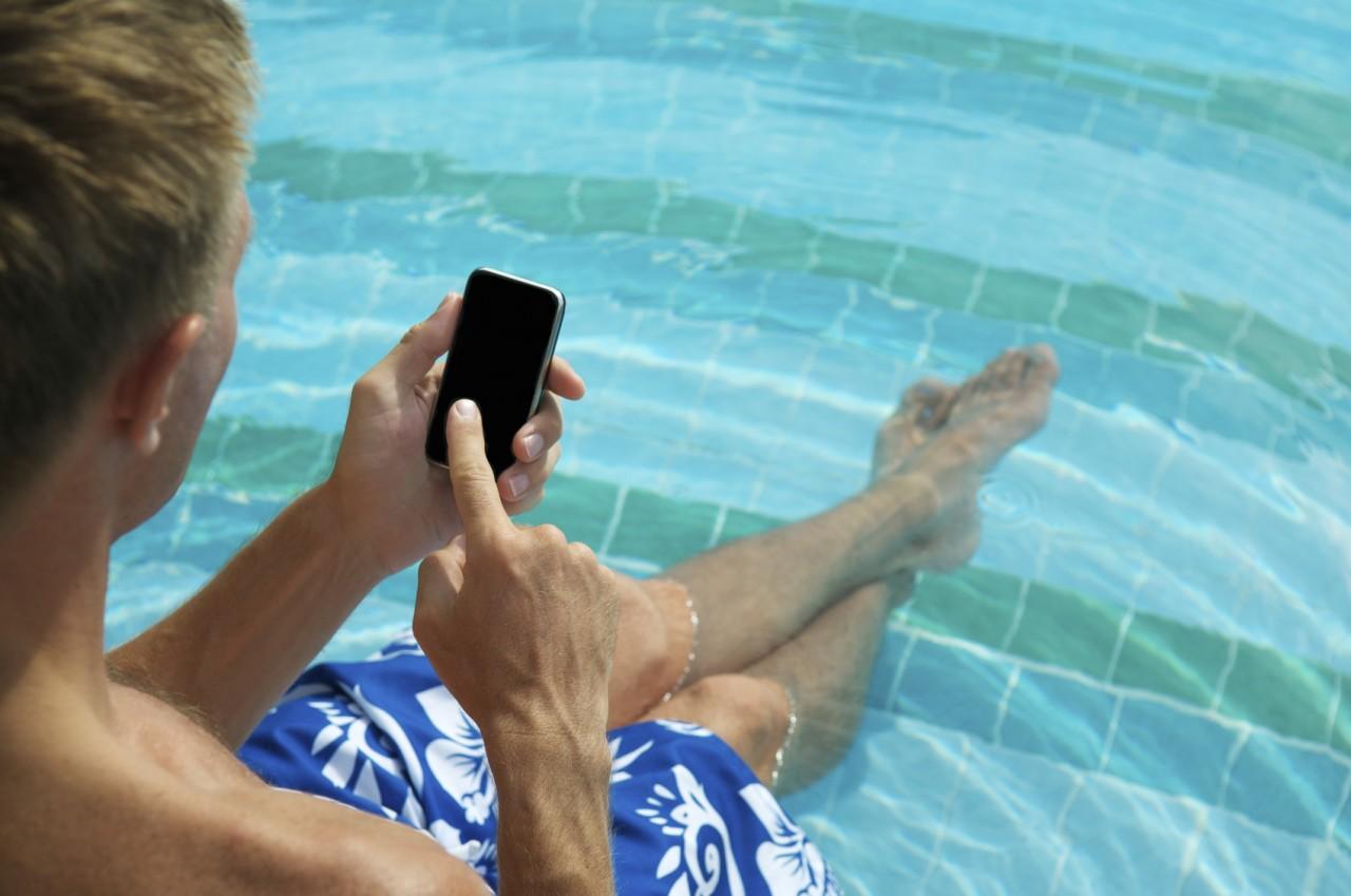 Även mobilt