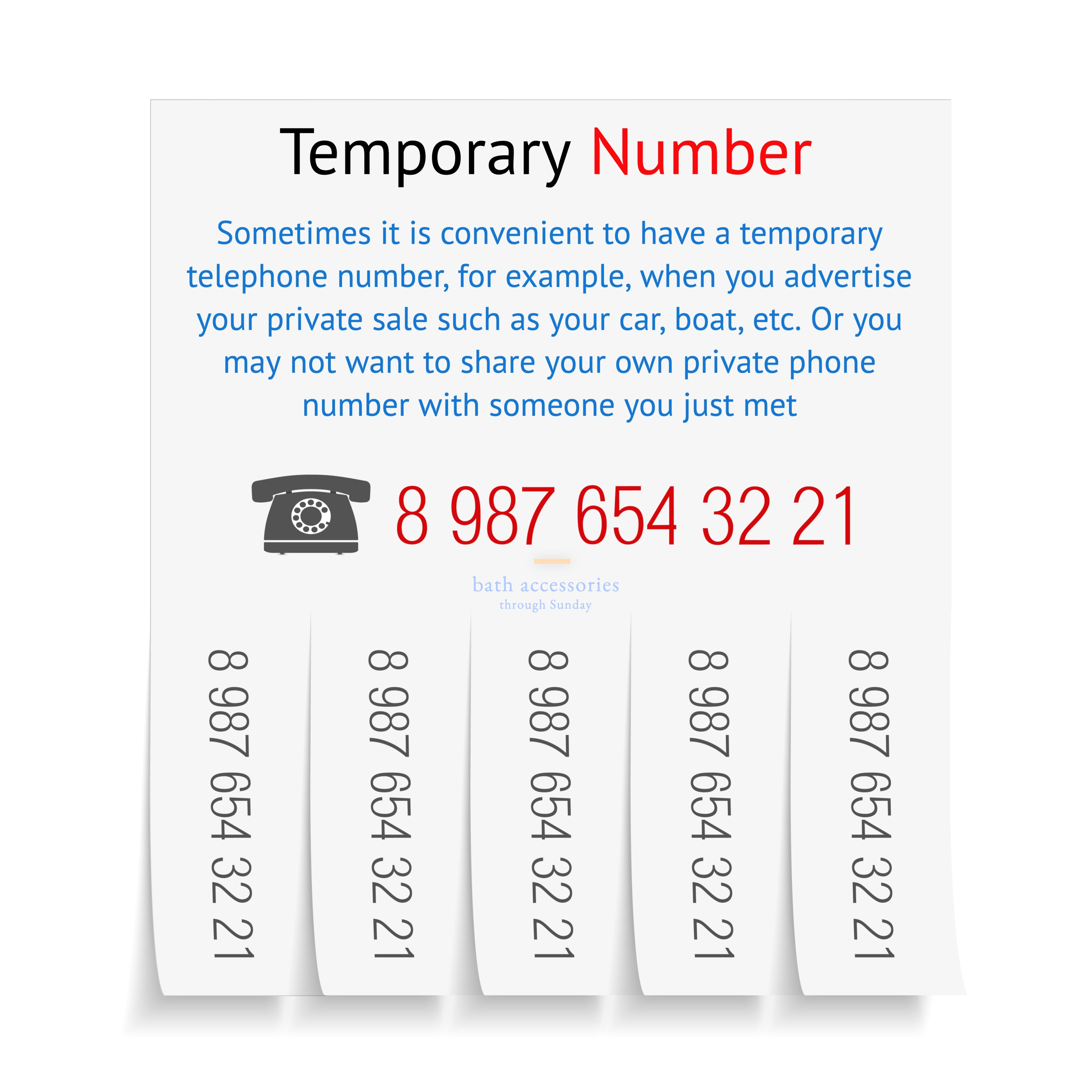 Temporary Number txt