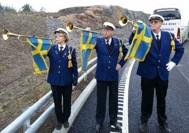 Invigning av Hedvikslunds trafikplats - Bollmora 2012