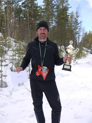 """Fjolårets segrare Jonas """"300%"""" Gustafsson"""