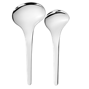 Georg Jensen Bloom Serveringsked 2-pack -