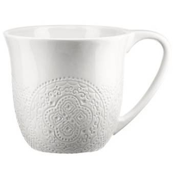 Cult Design, Orient Kaffemugg 30 cl vit - Cult Design, Orient Kaffemugg 30 cl vit