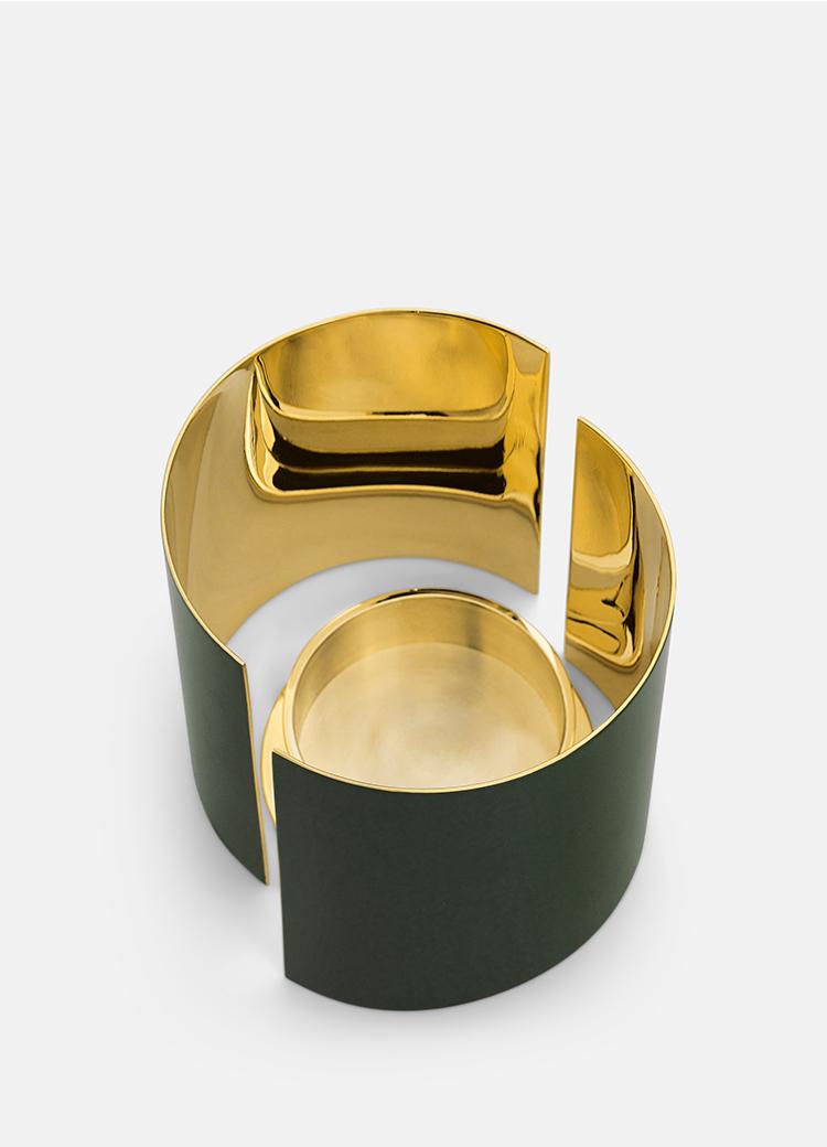 infinity green L upp