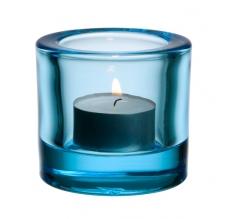 Iittala Kivi ljuslykta ljusblå 6cm - Iittala Kivi ljuslykta ljusblå 6cm