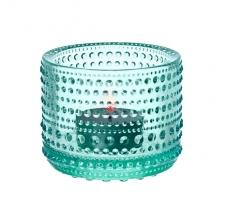 Iittala Kastehelmi ljusslykta vattengrön - Iittala Kastehelmi ljusstake vattengrön