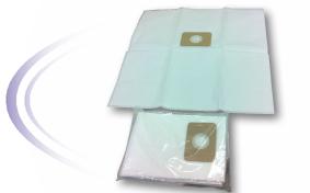 Filterpåse 23L för Centraldammsugare, Microfiber, 2-pack