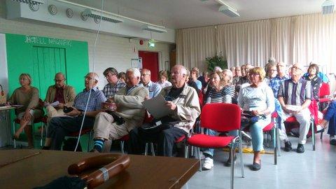 Stort intresse - fullsatt på Lilla Murgrönan
