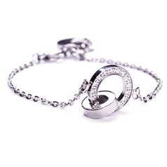 Edblad - Eternity orbit thin bracelet steel