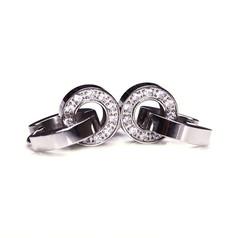 Edblad - Eternity orbit earrings steel