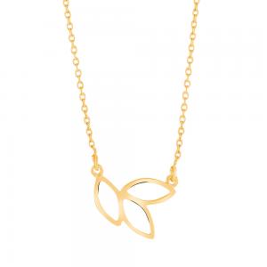 Nordahl Andersen - Botanic guld 13mm halsband