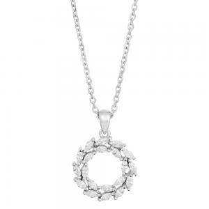Joanli Nor - Bibbi 14mm silver halsband