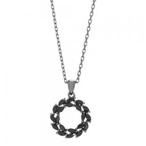 Joanli Nor - Bibbi 14mm svart halsband