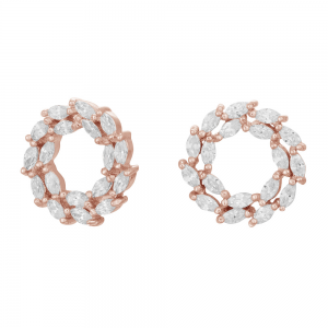Joanli Nor - Bibbi 13mm rosé öra