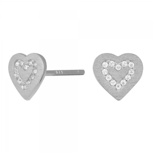 Joanli Nor - Becky ear cz silver