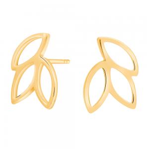 Nordahl - Botanic 14mm örhängen guld