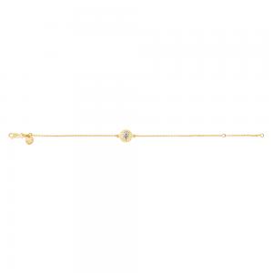 Nordahl - Life 10mm armband guld