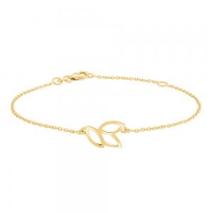 Nordahl - Botanic 14mm 17+3cm armband guld