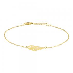 Nordahl - Green 23mm armband guld