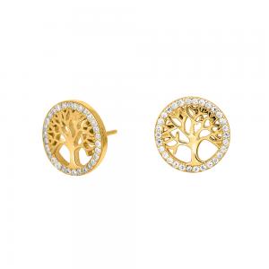 Joanli Nor - Caia örhängen guld livetsträd
