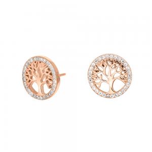 Joanli Nor - Caia örhängen rosé livetsträd