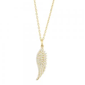 Joanli Nor - Brenda 25mm halsband guld