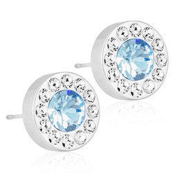 Blomdahl - BRILLIANCE HALO CRYSTAL/ALEXANDRITE, 8 MM - Blomdahl - BRILLIANCE HALO CRYSTAL/ALEXANDRITE, 8 MM