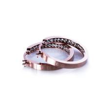 Edblad - Monaco earrings rosegold small
