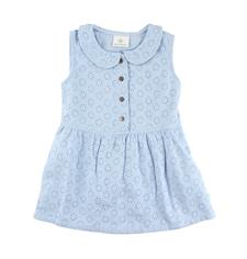Blå klänning - 74