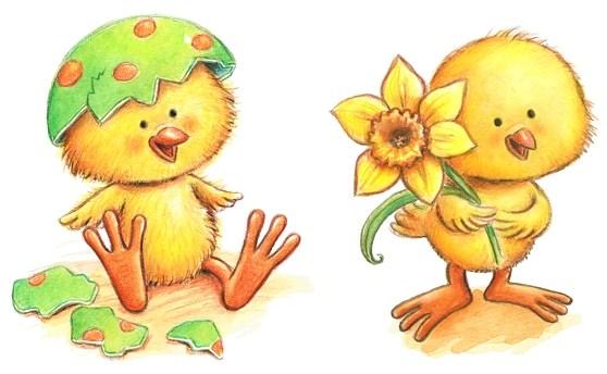 Tecknade Påskbilder
