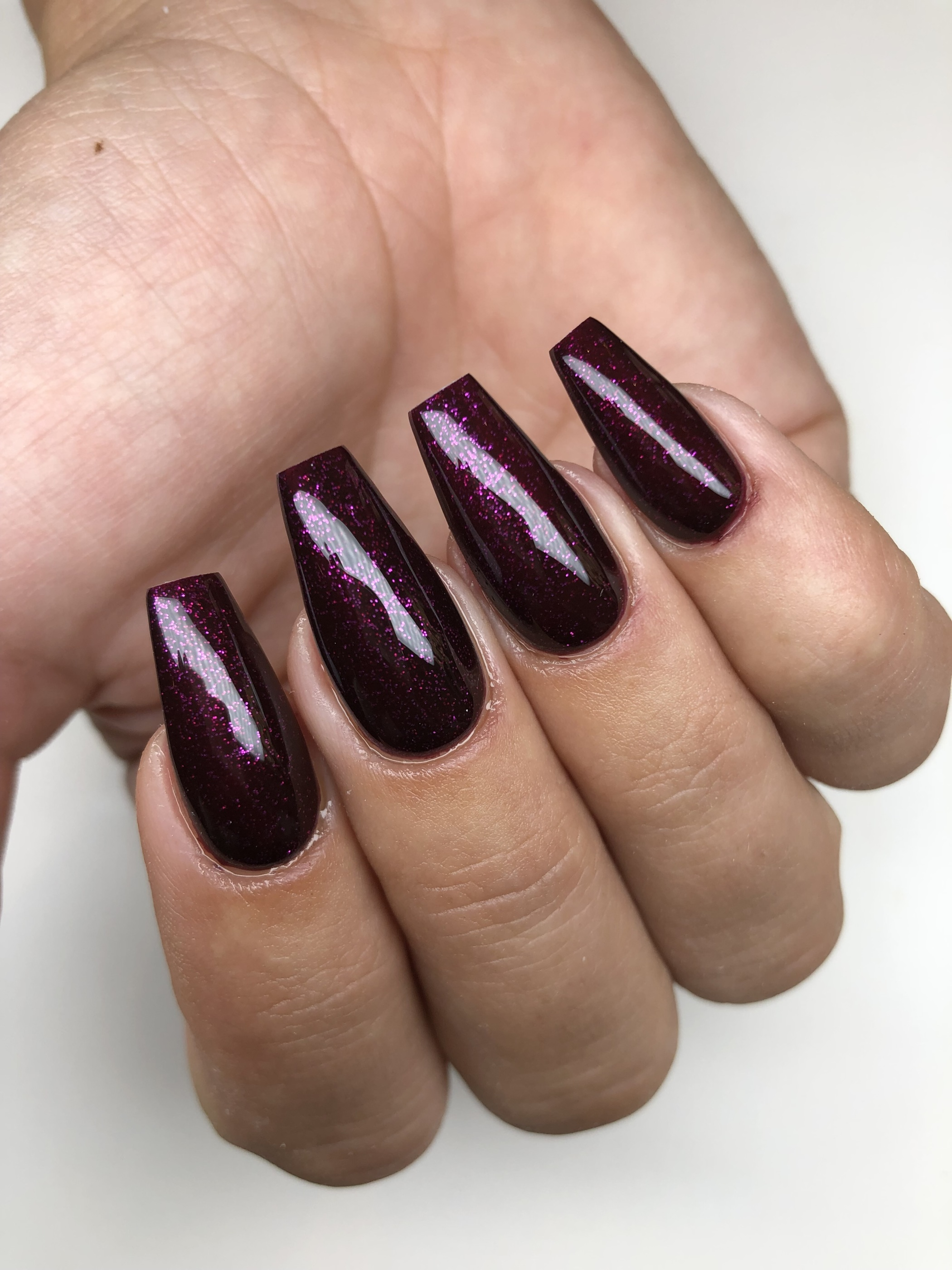 Miss Fancy Gel polish purple rain