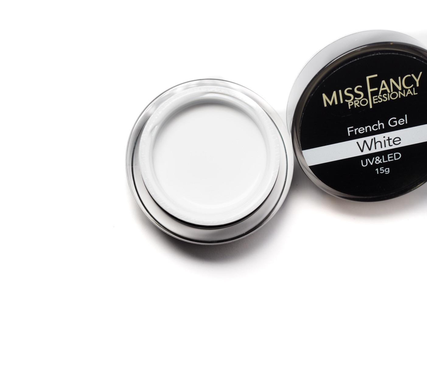 Miss fancy French gel White