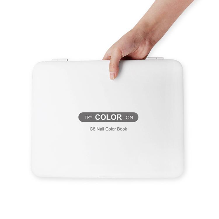 gel polish color book