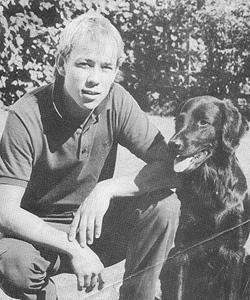 Flatmästaren 1983, 1984, 1985 och 1986  SJCh Bobby med husse Michael Melin.