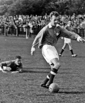 Mats Svensson gjorde BoIS enda mål på bortaplan mot Malmö BI