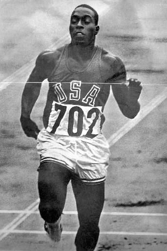 Bob Hayes, dåtidens Usain Bolt - men betydligt billigare för arrangörerna.
