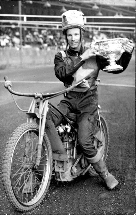 Ove Fundin, världsmästare fem gånger i speedway - 1956, 1960, 1961, 1963 och 1967