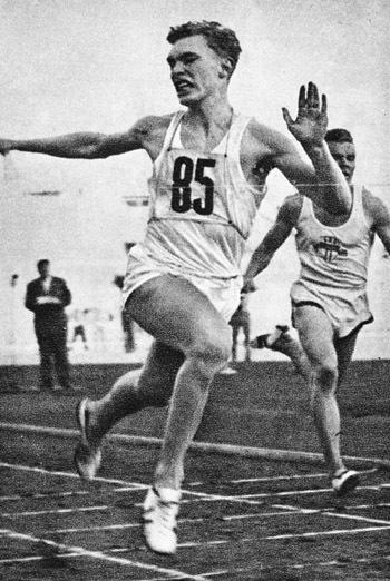Carl Fredrik Bunaes, norsk sprinter som var speciellt duktig i landskamper - 96 segrar i 130 starter i 41 landskamper