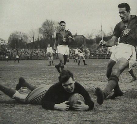 """Bengt """"Zamora"""" Nyholm, kom från IF Älgarna till IFK Norrköping och fick Guldbollen 1961. Bengt var efter fotbollskarriären travtränare på Mantorp under många år."""