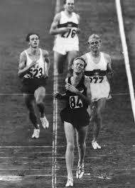 Murray Halberg vinner olympiskt guld på 5000 m i Rom 1960