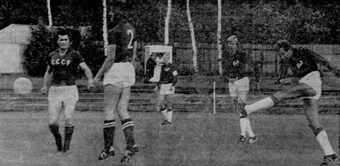 """Mats """"Slingan"""" Ohlsson lossar stora kanonen inför skrämda ryssar 1971"""