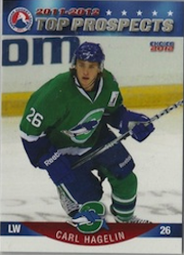 2011-12	AHL Top Prospects Carl Hagelin #11 Choice