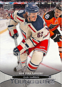 2011-12 Upper Deck #484 Carl Hagelin YG RC