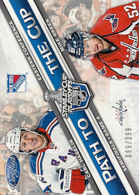 2012-13 Certified Path to the Cup Semifinals #13 Carl Hagelin/Mike Green /299