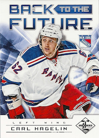 2012-13 Limited Back To The Future #BTFRH Brad Richards/Carl Hagelin /199