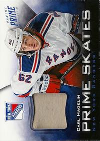 2012-13 Panini Prime Skates #10 Carl Hagelin /25