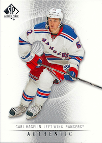 2012-13 SP Authentic #59 Carl Hagelin